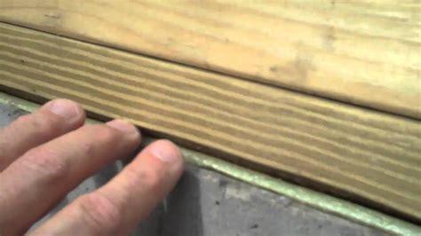 basement door sill plate