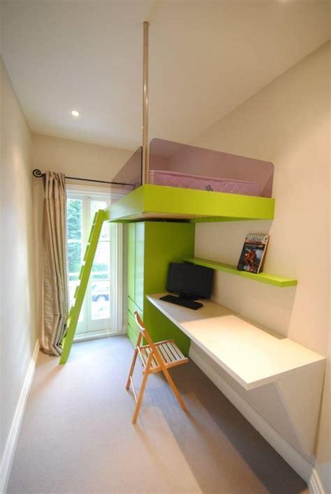 Jugendmöbel Für Kleine Zimmer by Kleines Kinderzimmer Einrichten Platzsparendes Hochbett