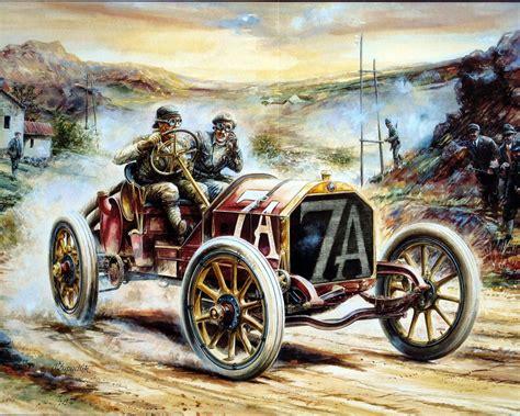 Fantásticos Dibujos En Hd De Autos Antiguos.