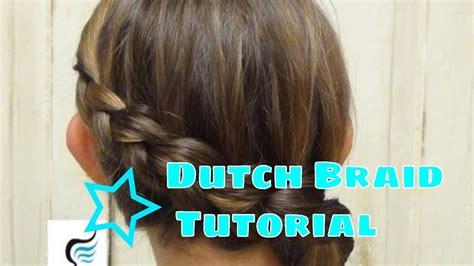 dutch braid hairstyles tutorial youtube