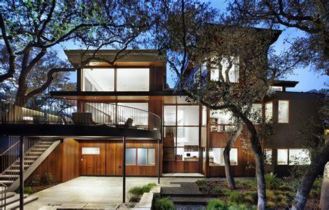 wood  limestone house built  trees