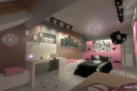 chambre dado sur le theme du cinema idees chambres ado
