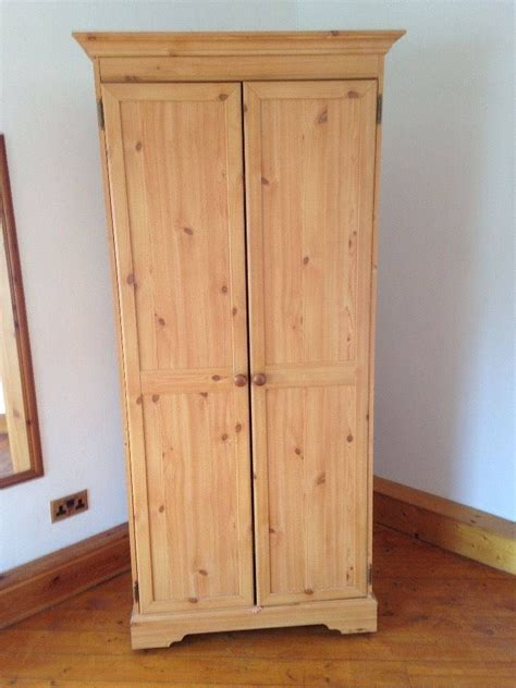 Pine Wardrobes by 15 Best Ideas Of Single Pine Wardrobes With Drawers
