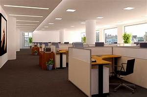 Beautiful open office space design open office space for Open office cubicles