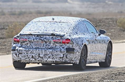 Is Audi Testing An Electric A7?