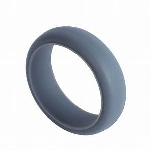 silicone wedding band rings men women rubber flexible With rubber wedding rings