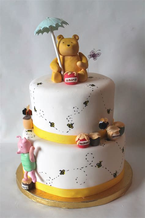 Winnie The Pooh Cake Template by Classic Winnie The Pooh Baby Shower Cake Cakecentral