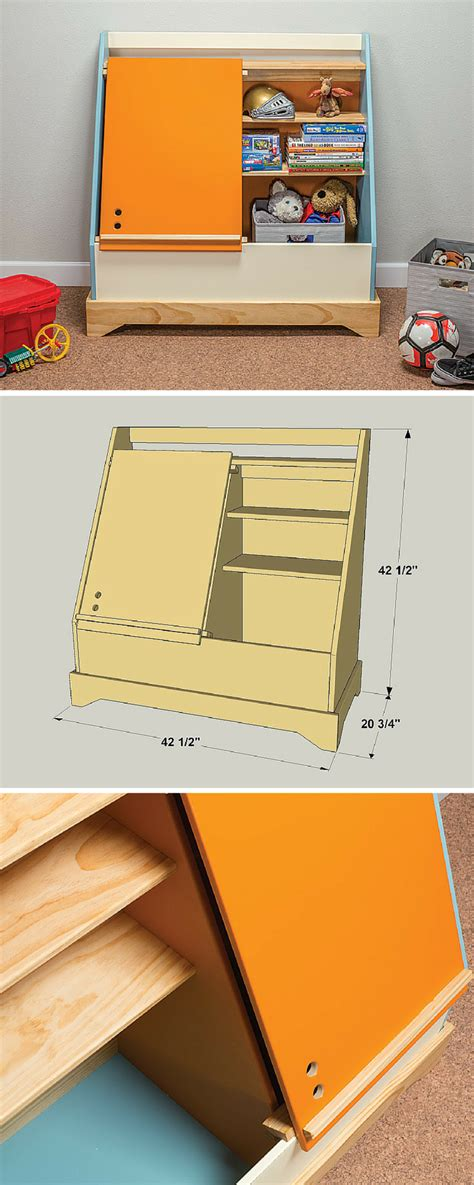 heres  cool twist   traditional toy box