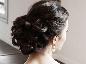 Coiffure Mariage Invitée : chignon mariage chic coiffure naturelle pour mariage ~ Melissatoandfro.com Idées de Décoration