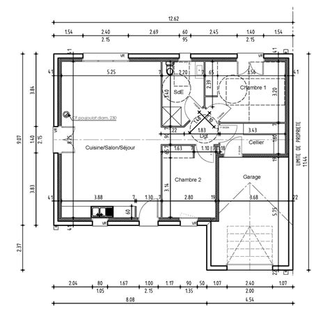 plan maison 2 chambres plan maison 2 chambres maison 2 chambres top maison