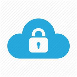 Cloud, lock, password, protection, safe, secure, security ...