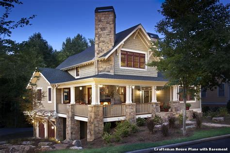 craftsman house plans with basement craftsman house plans with basement with classique façade