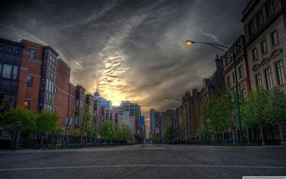 Street Hdr 4k Background Ultra Wallpapers