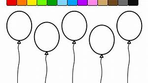 Great Balloon Coloring Pages 52 #2123