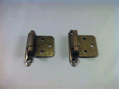flush mount cabinet hinges antique brass self closing flush mount cabinet hinges ebay