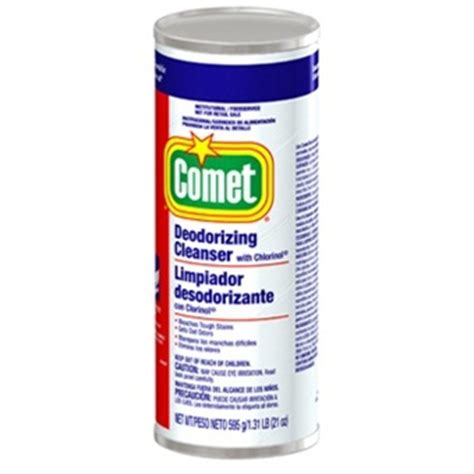 Ajax Bathroom Cleaner Msds by Comet Deodorizing Cleanser With Chlorinol Pgc32987 D