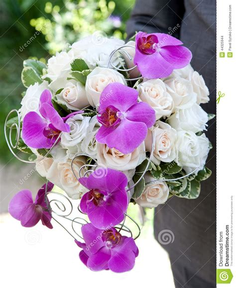 wedding bouquet bouquet  fresh flowers orchids