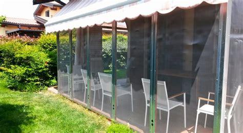 chiudere veranda veranda fai da te antizanzare come costruirla
