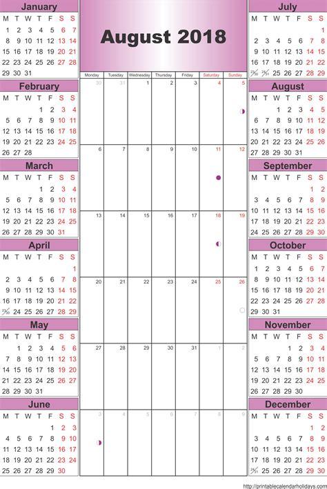 2017 2018 calendar template august 2018 calendar template printable 2017 calendars