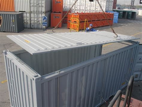 Open Top Containers For Sale Australia & New Zealand