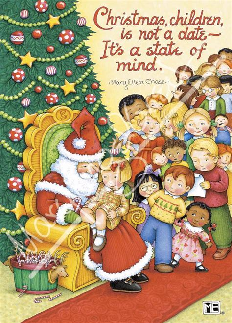 christmas state mind greeting card mary engelbreit