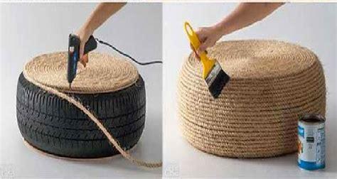 deco recup a faire soi meme d 233 co r 233 cup fabriquer un coussin de sol avec un pneu
