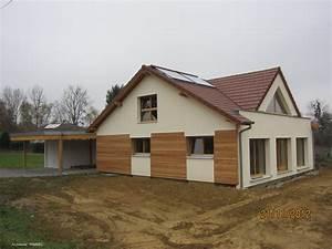Maisons à Ossature Bois en Alsace (Haut Rhin) 68 Charpentes Vogel à Attenschwiller (68)