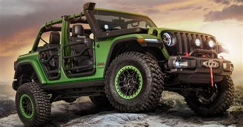 Wrangler Unlimited Modification by New Wranglers Show Mopar Jeep Performance Parts