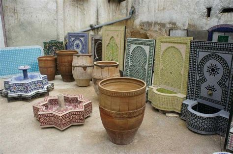 morocco s traditional crafts pottery and zellige tilework mint tea tours 131 best marrakech fez morocco gardens images on pinterest morocco moroccan decor and