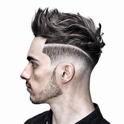 Haircut Cutting Mens Transparent Hairstyle Salon Cut
