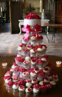 wedding cake and cupcakes wedding cakes pictures pink wedding cupcakes