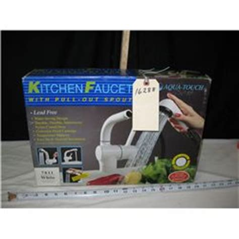 aqua touch kitchen faucet aqua touch kitchen faucet in the box