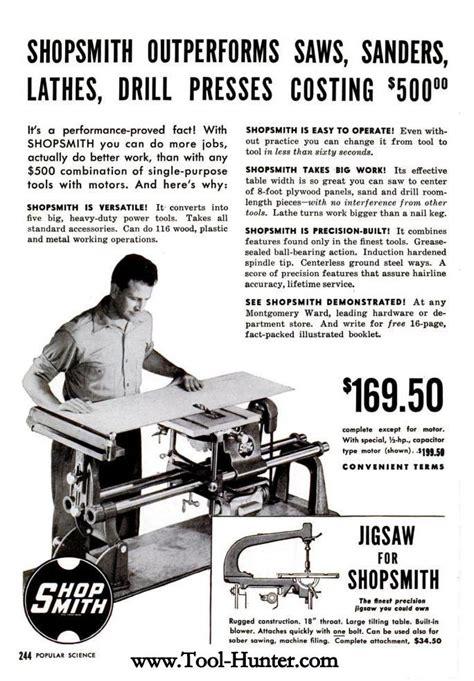 magna shopsmith er ad shopsmith outperforms saws
