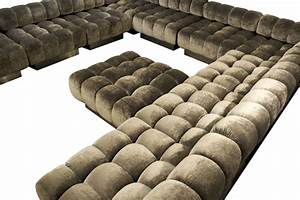 furniture extra large u shaped sectional tufted couch With sectional couch with huge ottoman