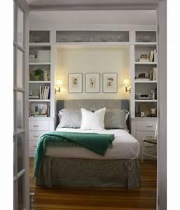 Kleine schlafzimmer gr er aussehen bett traditionell for Kleine schlafzimmer ideen