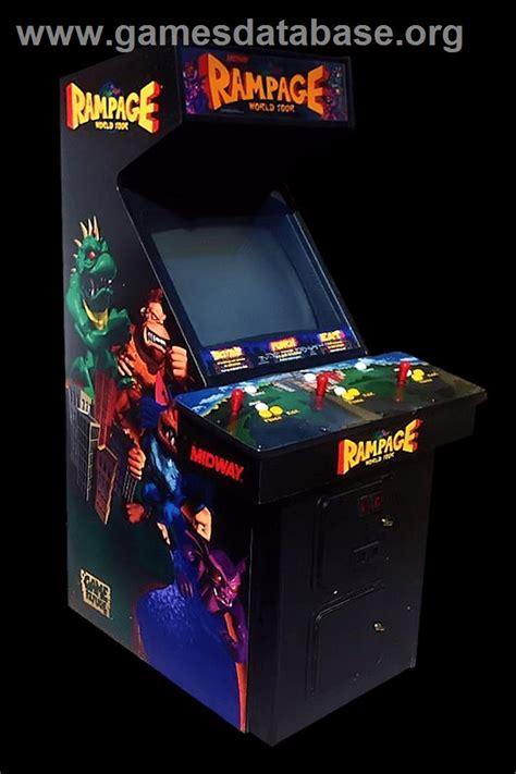 Rampage World Tour Arcade Games Database
