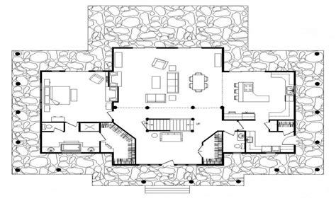Simple Log Cabin Floor Plans Big Log Cabins, Basic Log