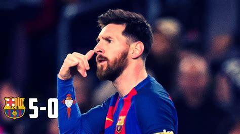 Barcelone 5 - 0 Celta de Vigo: Finale | Résultats - Yahoo Sport