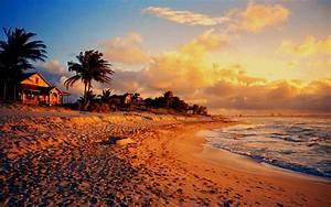 Cottage on Varadero Beach at Sunset, Cuba – Travel Around ...