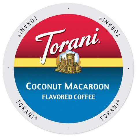 Torani Coconut Macaroon Coffee   Keurig, K Cup Compatible   Available in our Canada Store