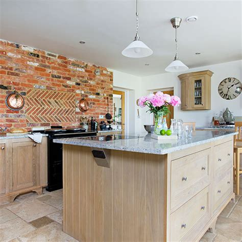 oak kitchen island units traditional kitchen with oak island unit kitchen 3579