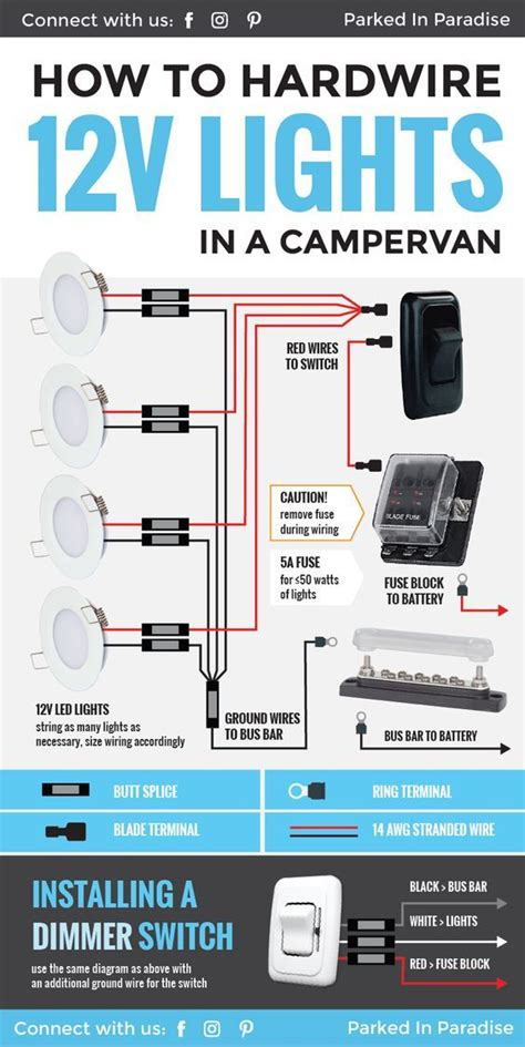 Led Lights For Room Near Me by How To Wire 12 Volt Led Lights In Your Cer