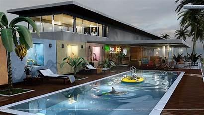 Pool Swimming Villa Maya Submit Wallpapersafari