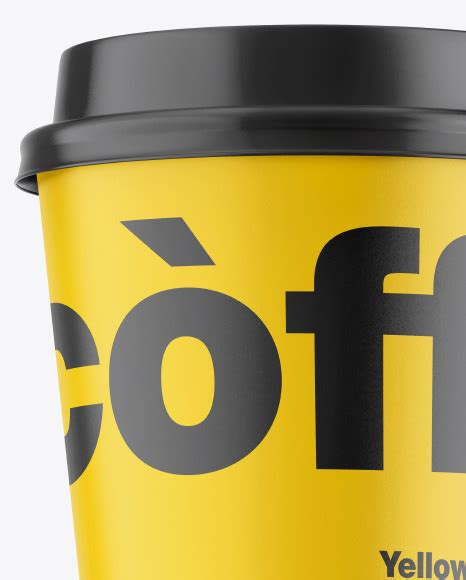 Free psd mockup to make a preview of your coffee logo design as realistic and naturally as possible. Matte Coffee Cup Mockup in Cup & Bowl Mockups on Yellow ...