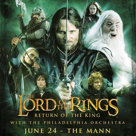 The Lord Of The Rings The Return Of The King With Members