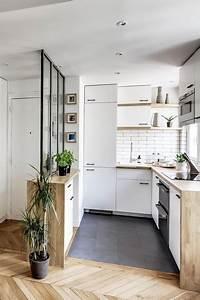 cuisine ouverte sur la salle a manger 50 idees gagnantes With cuisine ouverte petit espace