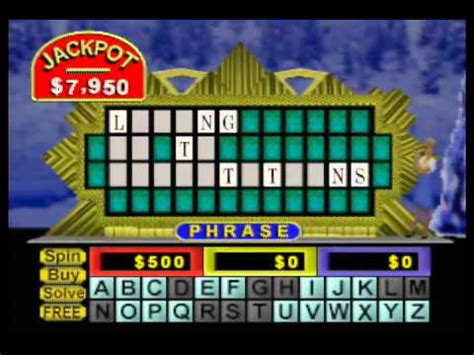 lets play wheel  fortune youtube