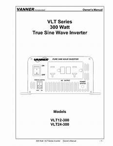 Vlt Series 300 Watt True Sine Wave Inverter