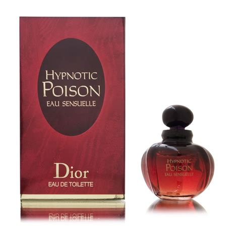 eau de toilette hypnotic poison buy hypnotic poison eau sensuelle by christian basenotes net