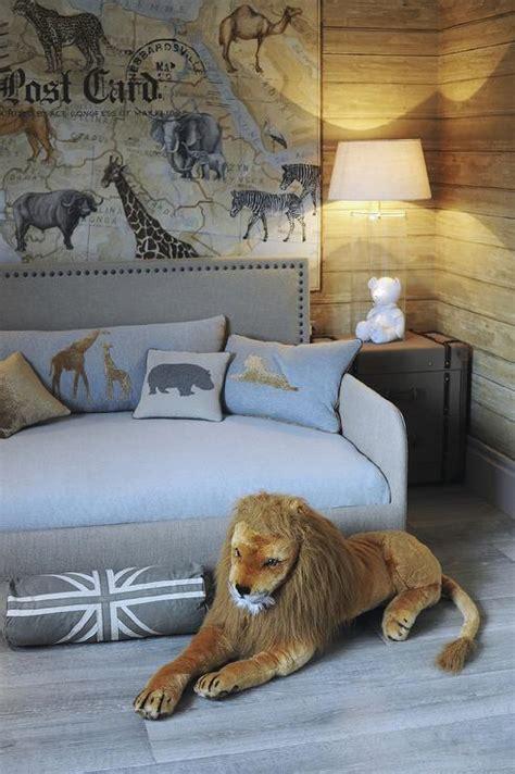 Safari Themed Bedroom by Safari Themed Boys Bedroom Transitional Boy S Room
